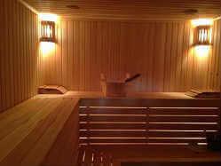 Русская баня на дровах с веником