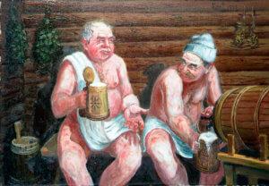 Пиво и баня совместимы